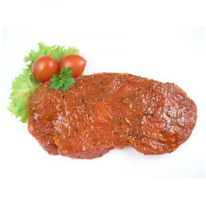 "Rumpsteak ""prickelnde Sonne"" (Rindersteak vom Roastbeef)"